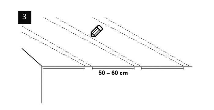 3-PU-Deckenbalken-Montage