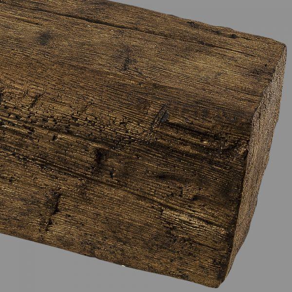 Polyurethan Holzbalken Holz Imitat Kunststoff Balken PU