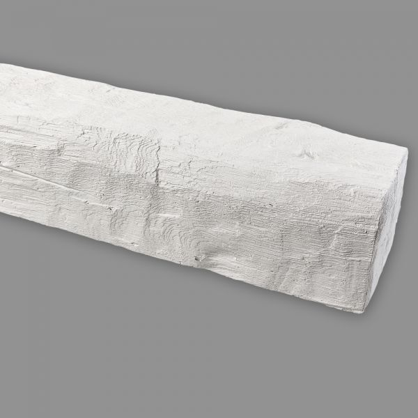 Deko Deckenbalken PU 90 x 60 mm, weiß Küche