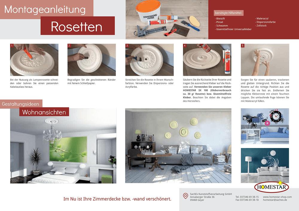 Favorit Montagenaleitung - Styroporleisten & Co. | Homestar-Shop KU15