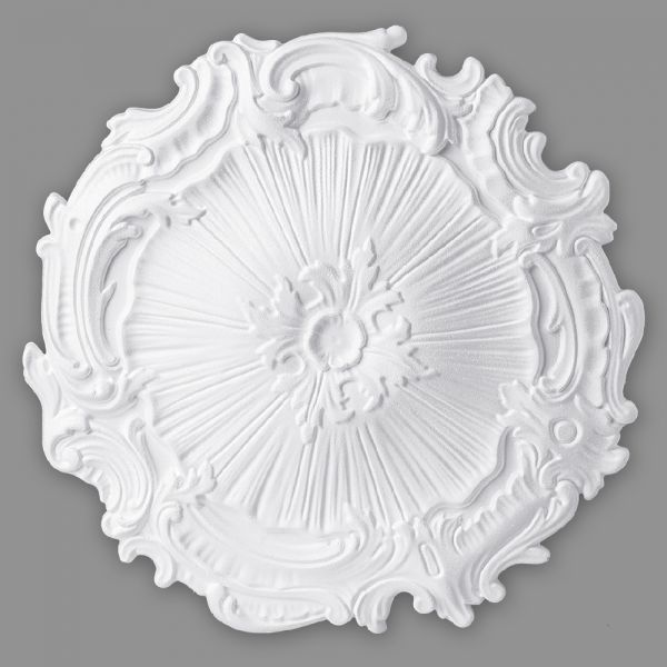 Rosette Kunststoff Mira Decke Styropor