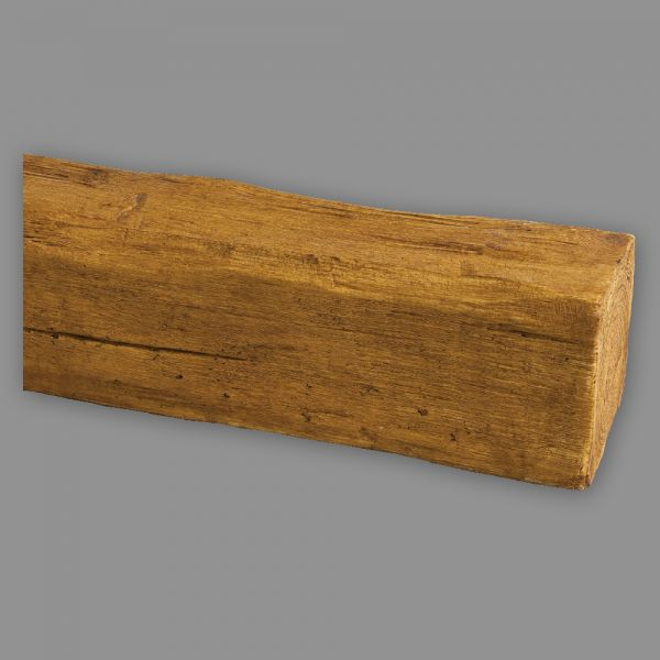 Deckenbalken Holz Imitat Eiche, 2 m, hellbraun (PU Balken)
