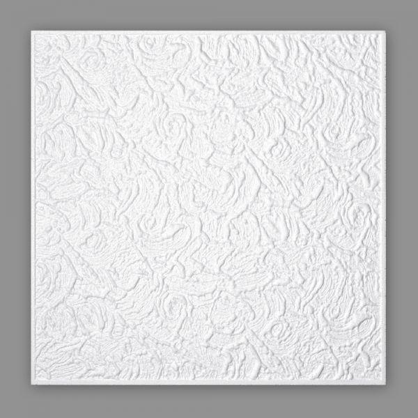 Deckenplatten Styropor 50 x 50 cm HOMESTAR