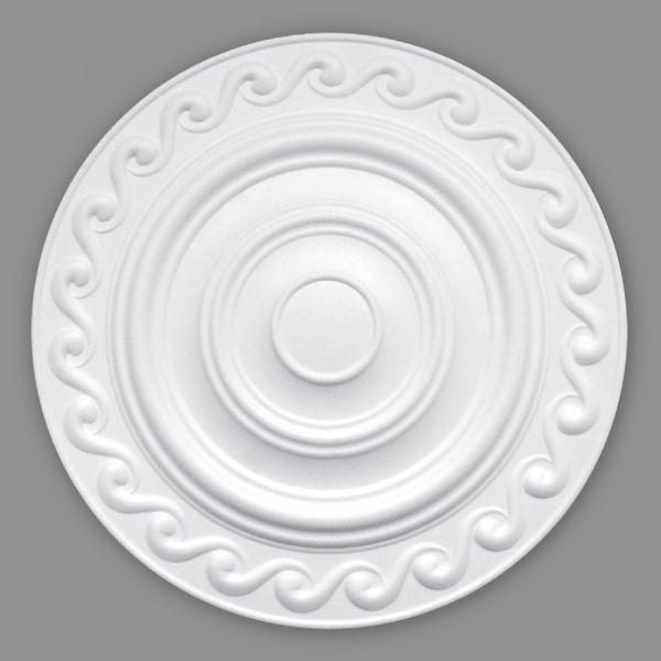 Deckenrosette Polystyrol Styroporrosetten Rosette Sarah