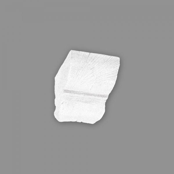 Konsole 9 x 6 cm für Deckenbalken Holzimitat weiß