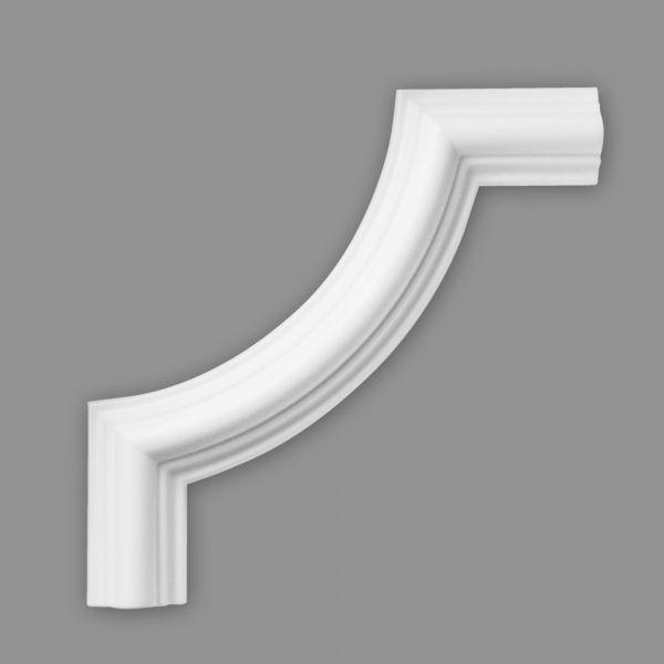 Wandprofil Bogen Kunststoff Wandleiste BW11